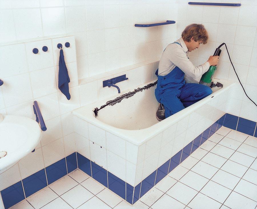 Sehr Badewannenaustausch ohne Fliesenschaden | Intact Bad-Service GmbH TN49